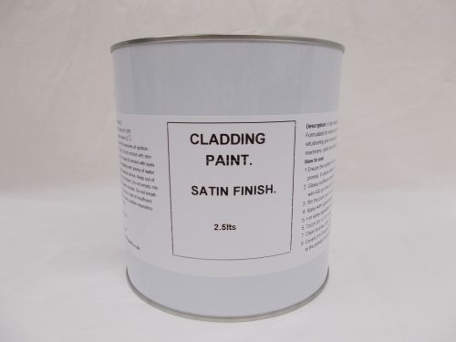 2.5lt Corrugated Steel Cladding Paint Exterior Factory Wall