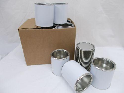 32 x 500ml New Small Tin Empty Tins Food Solid Liquid