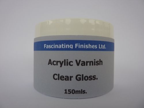 1 x 100ml Gloss Acrylic Varnish Art Craft Hobby
