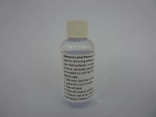 Self Adhesive Label Remover - Crayon, Pen, Sticky, Stain