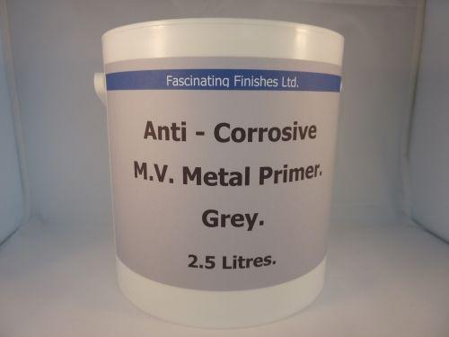 2.5lt Military Vehicle Anti Corrosive Metal Primer Grey