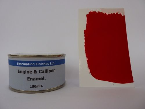 150ml Brake Caliper & Engine Heat Resistant Paint Bright Red