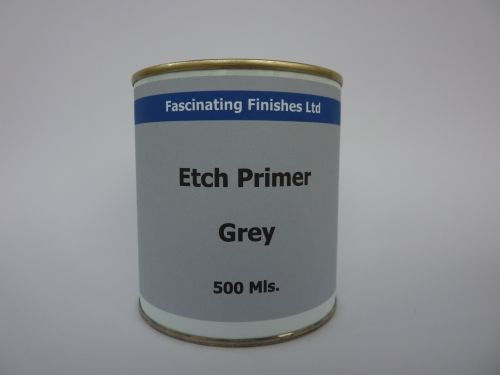 500Mls  Etch Primer Galvanised Steel Aluminium Metal Anti-Rust
