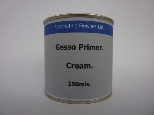 250ml Gesso Primer Cream Oil Acrylic Paint Canvas Jesso