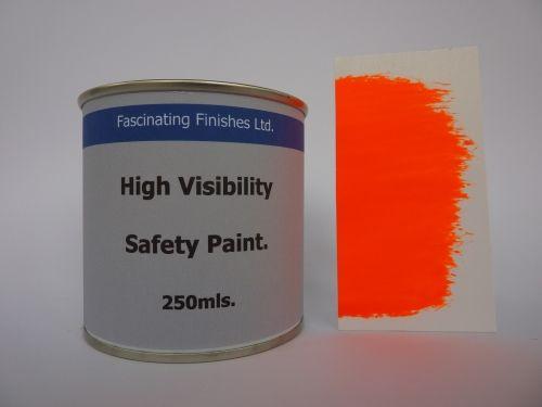 250Mls Hi Vis Fluorescent High Safety Marking Paint Fluorescent Orange