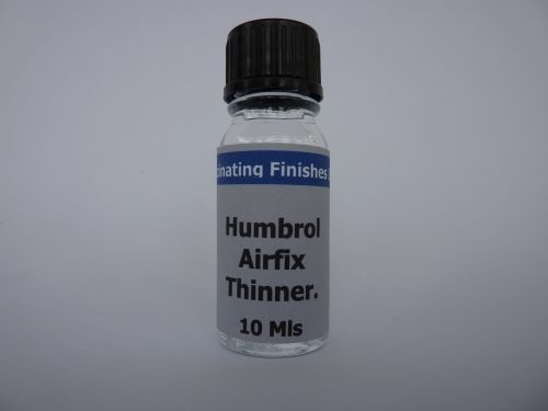 1 x 10ml Humbrol Airfix Enamel Paint Thinner Spray Thinners