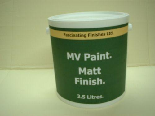2.5lt Matt Military Vehicle Paint Olive Drab BS381c 298