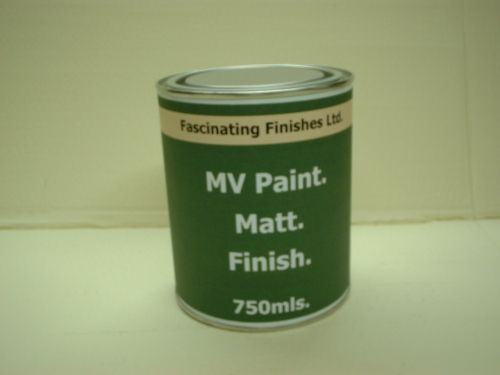 750Mls Matt Military Vehicle Paint Desert Sand BS381c 361