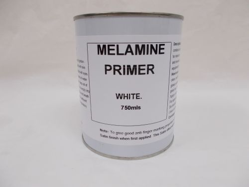 750mls Melamine Primer Paint Kitchen Bedroom Furniture Doors White