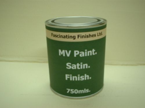 750ml Satin Military Vehicle Paint Olive Drab BS381c 298