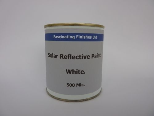 500ml White Conservatory Glass Shading Paint Reduce Solar Heat