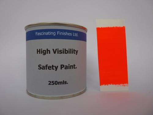 250mls Hi Vis Florescent High Safety Marking Paint