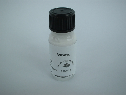 10mls White Gloss Scratch Repair Paint Door Furniture